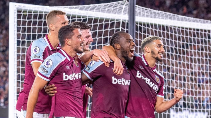 Michail Antonio made history for the Hammers on Monday night