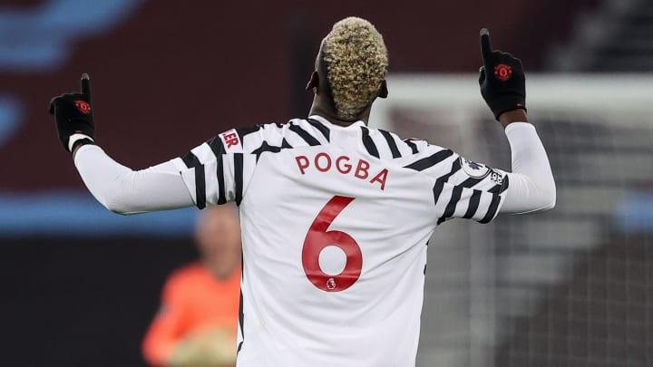 Paul Pogba scored a crucial goal on his last Man Utd appearance