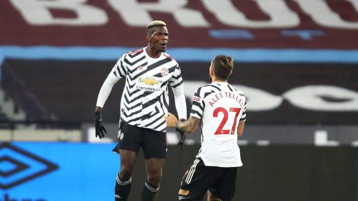 Paul Pogba erzielte gegen West Ham einen sehenswerten Treffer