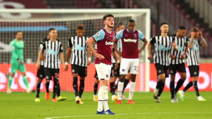 The Hammers started in the worst possible manner last weekend