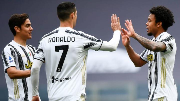 Paulo Dybala, Cristiano Ronaldo, Weston McKennie