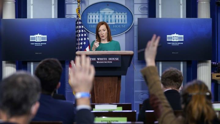 White House Press Secretary Jen Psaki Holds Briefing In The White House