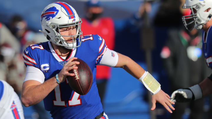 Ravens vs Bills point spread, over/under, moneyline and betting trends for NFL Divisional Round game.