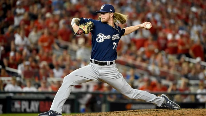 Milwaukee Brewers closer Josh Hader
