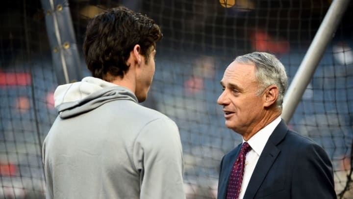 Rob Manfred, Christian Yelich