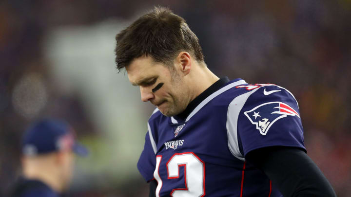 Tom Brady and the New England Patriots lose to the Tennessee Titans