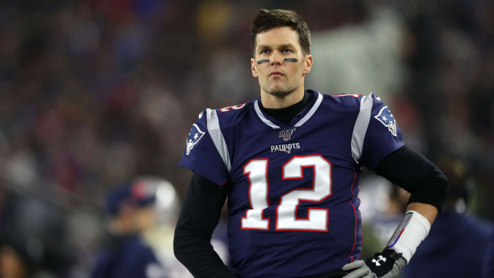 NBC's Al Michaels says that Tom Brady hinted to him last season that he'd be leaving the Patriots.