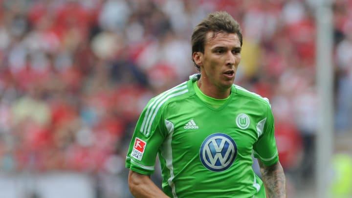 Wolfsburg's Croatian striker Mario Mandz