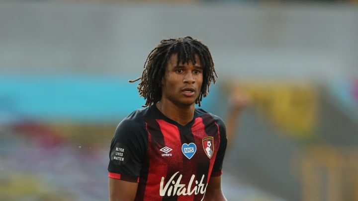Nathan Ake in action for Bournemouth against Wolverhampton Wanderers