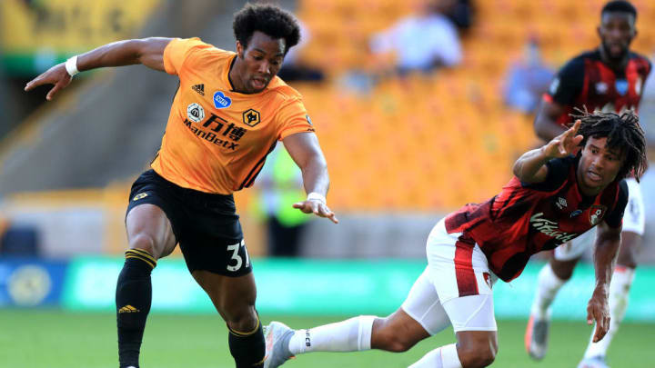 Adama Traore was the standout player for Wolves