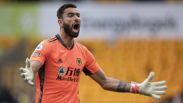 Rui Patricio is expected to join Roma after three years at Wolves