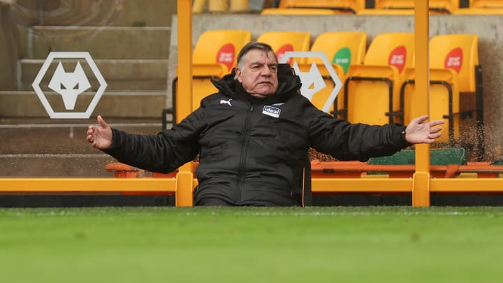 Big Sam's first win as West Brom manager