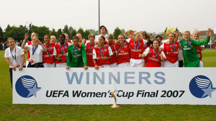 Womens UEFA Cup Final 2nd Leg: Arsenal v Umea IK