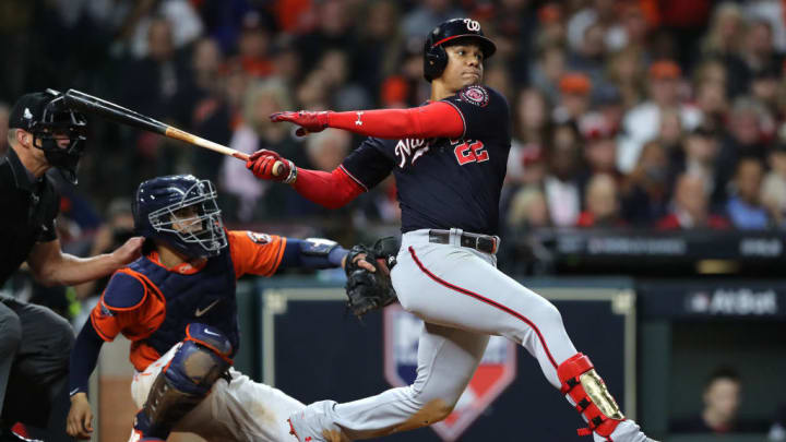 Juan Soto made a name for himself in the 2019 postseason.