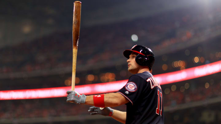 Washington Nationals star Ryan Zimmerman has some choices to make before the MLB season.