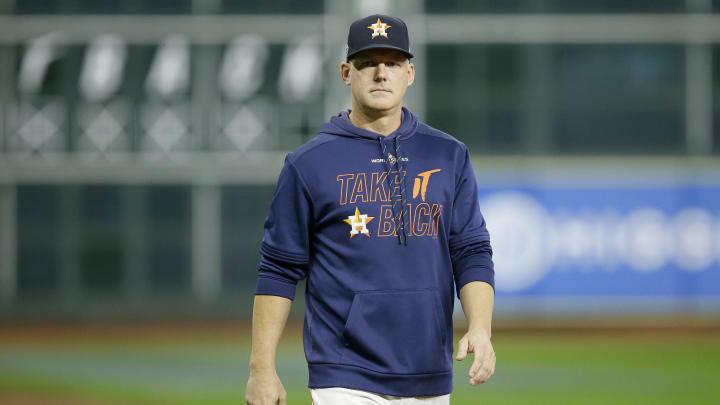A.J. Hinch, World Series - Washington Nationals v Houston Astros - Game Seven