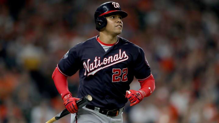 Washington Nationals young slugger Juan Soto