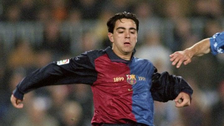 Xavi Hernandez of Barcelona