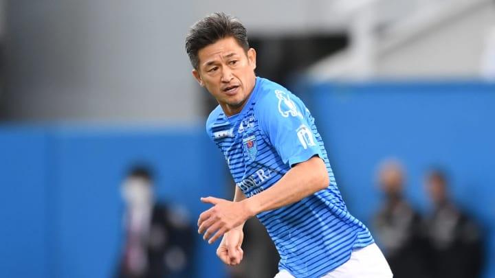 Kazuyoshi Miura is the world's oldest footballer