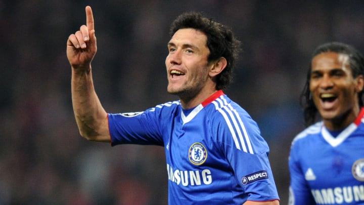 Yuri Zhirkov enjoyed two years at Chelsea