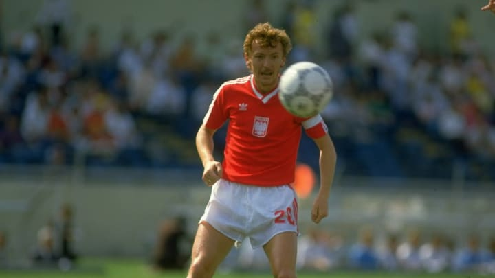 Zbigniew Boniek of Poland