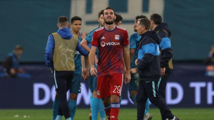 Zenit St. Petersburg v Olympique Lyon: Group G - UEFA Champions League