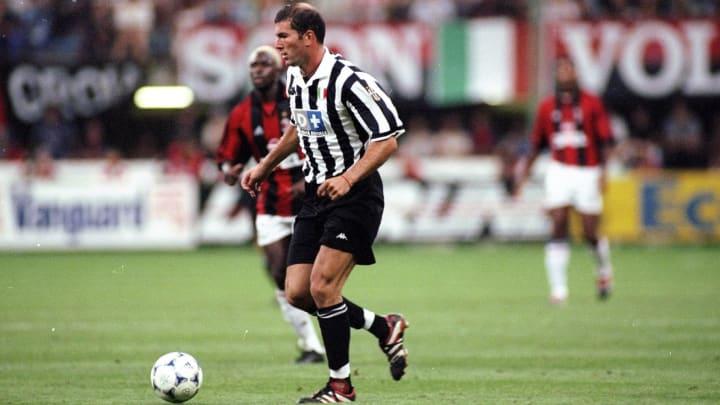Zinedine Zidane of Juventus