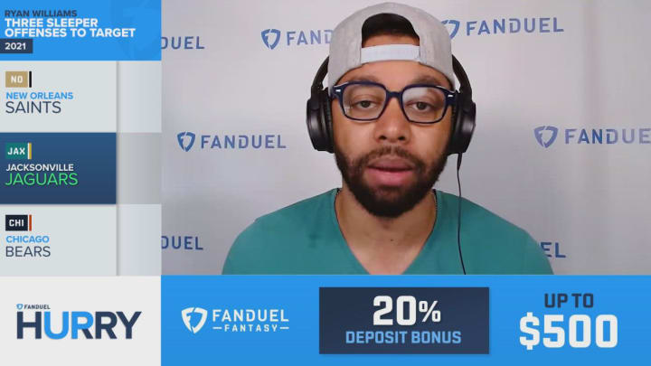 Jacksonville Jaguars A Sleeper Offense To Target When Drafting In Fantasy Football - FanDuel Hurry Up