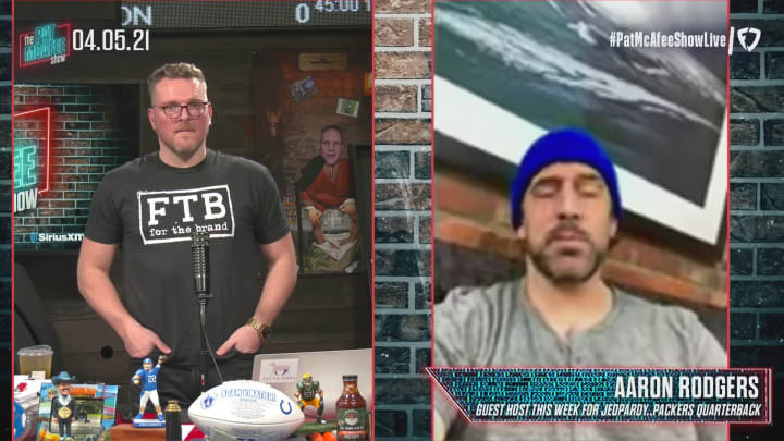 Aaron Rodgers Talks About Hosting Jeopardy! - The Pat McAfee Show