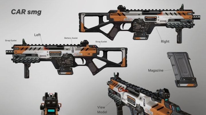 The CAR is one of two SMGs that may arrive in Apex Legends Season 4