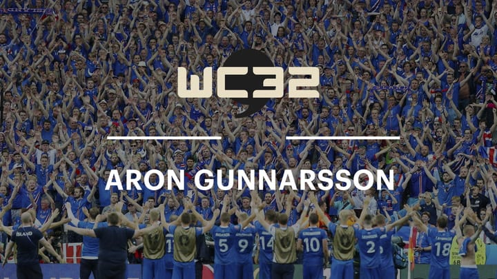 "Aron Gunnarsson on Iceland's ""Small Country Mentality"""