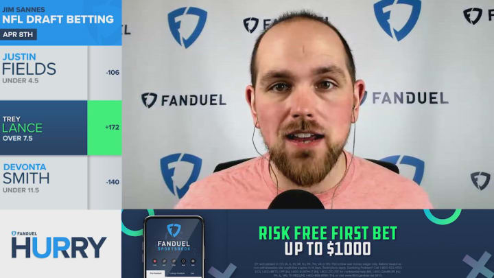Bet Trey Lance To Be Drafted Over 11.5 Picks - FanDuel Hurry Up