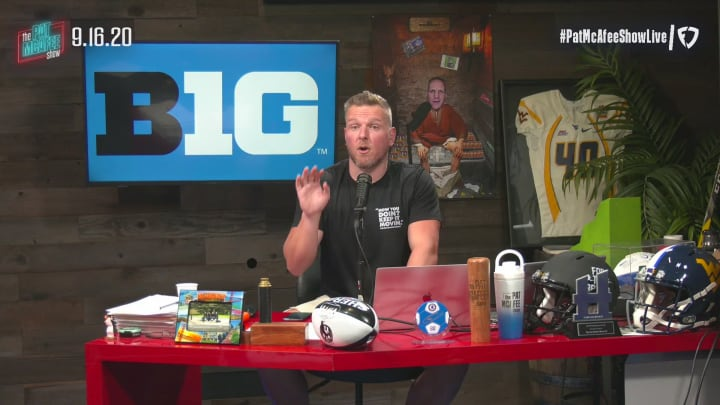 Speaking on The Pat McAfee show on Wednesday morning, Pat McAfee celebrated the return of Big Ten football, which is officially back after over a month of negotiations, bringing the total of power conferences set to play to four. On a professional level, McAfee touches on the alarmingly high amount of money that the National Football League and its owners are losing without fans in attendance, which is led by the Dallas Cowboys and owner Jerry Jones losing $77 million per game. Lastly, the San Francisco 49ers have placed star cornerback Richard Sherman on the IR due to a leg issue, which is a huge hit to their vaunted defense.