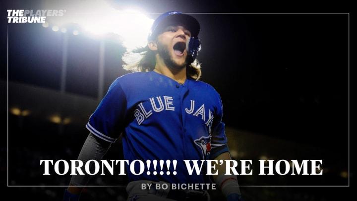 Toronto!!!!! We're HOME | By Bo Bichette