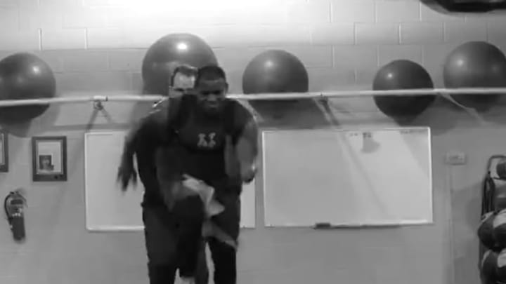 Yoenis Cespedes dropped a workout video that should be enough to get any Mets fan hyped.