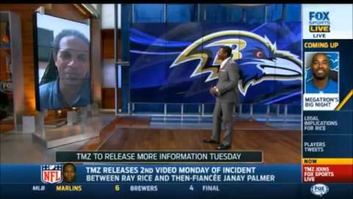 Charles Latibeaudiere on FS1 - Ray Rice