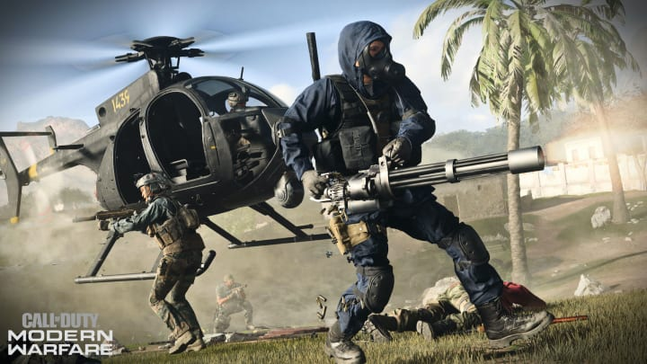 Call of Duty Modern Warfare's battle royale release has yet to be announced