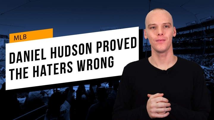 Daniel Hudson Proved the Haters Wrong