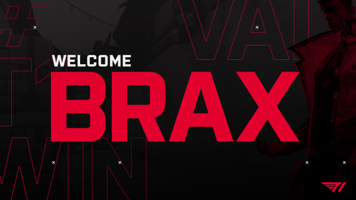 Brax has joined T1 as a professional Valorant player and content creator.
