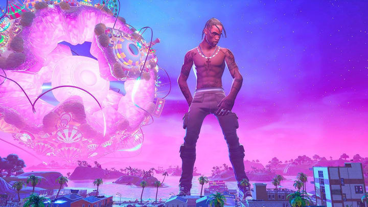 Fortnite players are eager for the return of Travis Scott, American rapper and hip hop artist, in 2021.