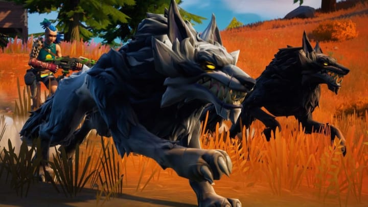 Fortnite players are trying to figure out where to find wolves in Fortnite Island.