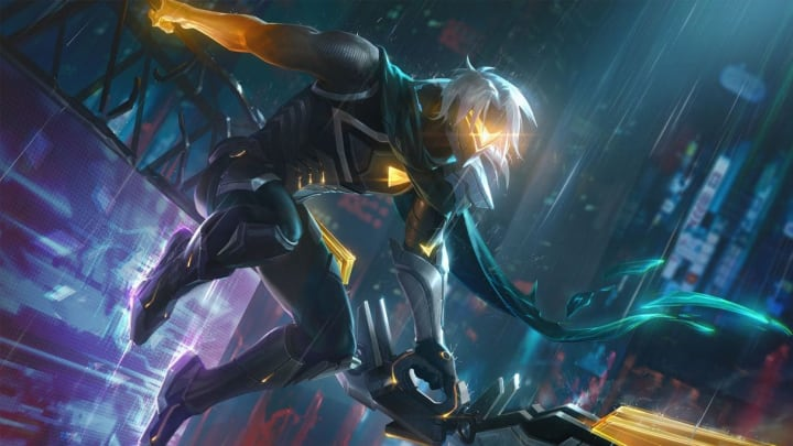 Project Varus was the first splash art to be leaked by Riot Games.