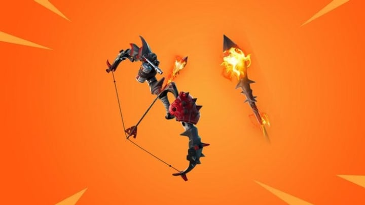 The Primal Flame Bow is one of the weapons you can use to set structures on fire for one of Fortnite's Week 4 Challenges.