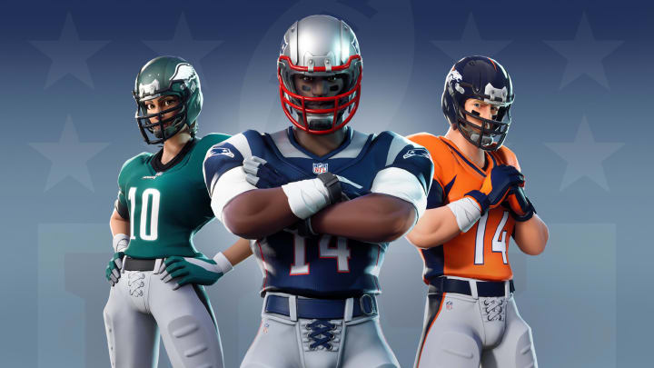 NFL Skins are making a return to the Fortnite Item Shop on Nov. 25 with new designs and more options for customization.