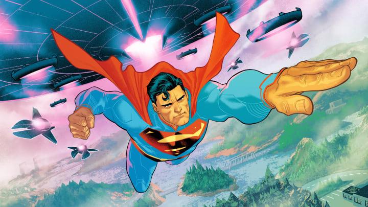 "The ""Last Son of Krypton"" loading screen."
