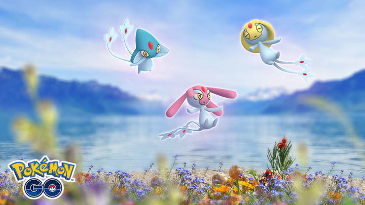 Catch the Legendary Lake Legends in Pokémon GO during a new Raid event.