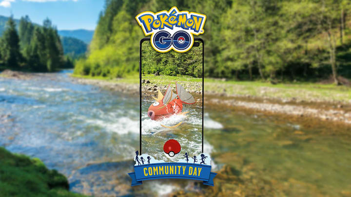 Magikarp will be the featured Pokemon for August's community day event