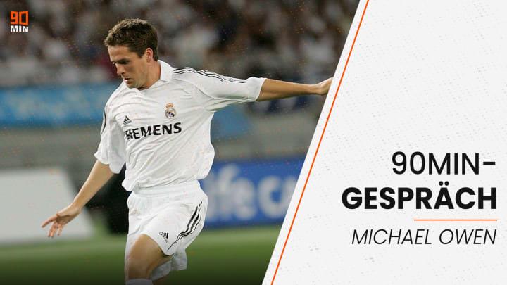 Micheal Owen hat mit uns über seine Zeit bei Real Madrid geplaudert