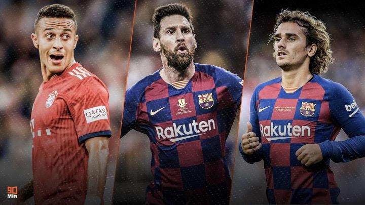 Thiago Alcantara, Messi et Antoine Griezmann au coeur de l'actu mercato