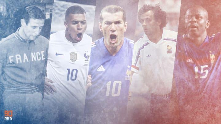 La France a vu passer parmi les plus grandes stars du football.